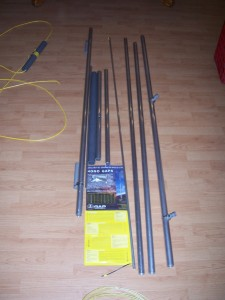 30 Meter MonoGap parts as they arrived, and out of the box