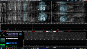 Shortwave broadcasts are highlighted in light blue